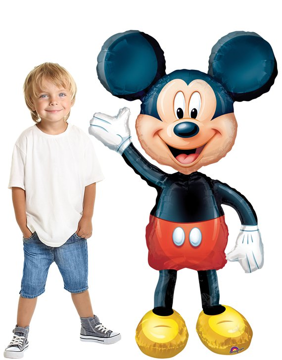 Mickey Mouse Airwalker Ballon - 132 cm Folie