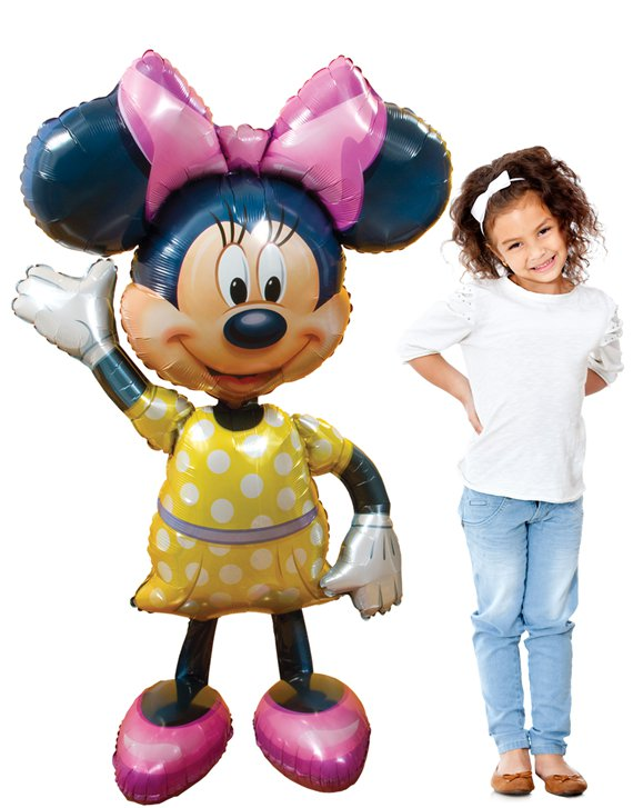 Minnie Mouse Airwalker Ballon - 132 cm Folie