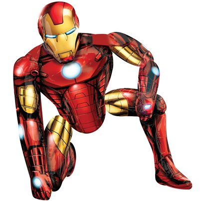 Iron Man Airwalker Ballon - 117 cm Folie