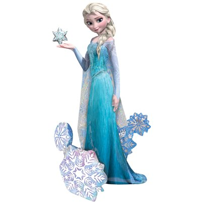 Disney Frozen Elsa Airwalker Ballon - 154 cm