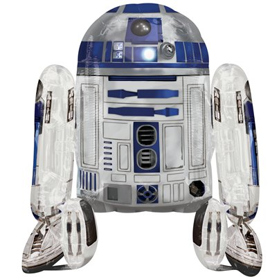 Star Wars R2-D2 Airwalker Ballon - 97 cm