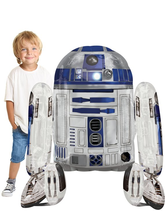 Star Wars Feest Star Wars R2-D2 Airwalker Ballon - 97 cm
