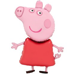 Peppa Pig Airwalker Ballon - 122 cm Folie
