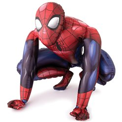 Spiderman Airwalker Folie Ballon - 91 cm
