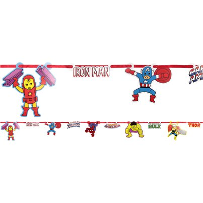 Avengers Pop Strip Papieren Slinger Set