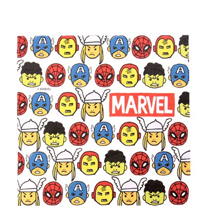 Avengers Pop Strip Papieren Servetten - 33 cm