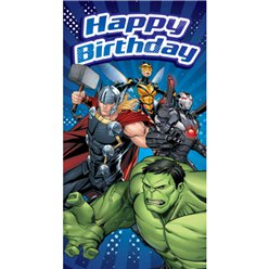 Avengers Happy Birthday Verjaardagskaart