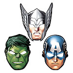 Avengers Feestmaskers