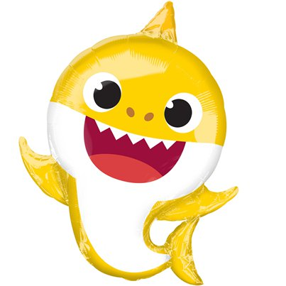 Baby Shark Supershape Folie Ballon