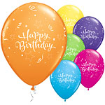 Stralende Ster Happy Birthday Ballonnen - 28 cm Latex