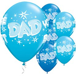 'Dad You're the Best' Vaderdag Ballonnen - 28 cm Latex