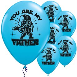 Star Wars Feest Star Wars 'You Are My Father' Ballonnen - 28 cm Latex