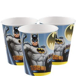 Batman Plastic Bekers - 255 ml