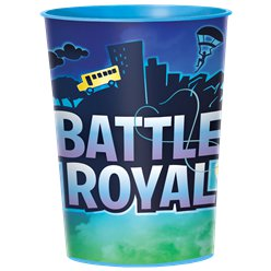 Battle Royal Plastic Attentiebeker