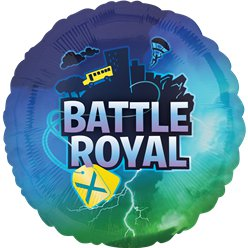 Battle Royal Ballon - 46 cm Folie