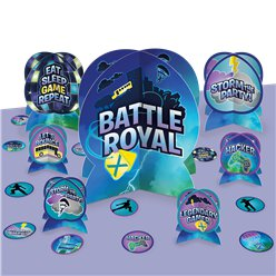 Battle Royal Tafeldecoratie Set
