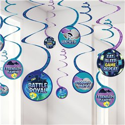 Battle Royal Hangende Swirl Decoraties