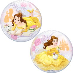 Disney Prinses Belle Bubbel Ballon - 56 cm