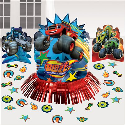 Blaze en de Monsterwielen Tafeldecoratie Set
