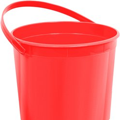 Rood Plastic Attentie Emmertje - 15 cm