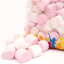 Pink & White Marshmallow 1 Kg Bulk Bag