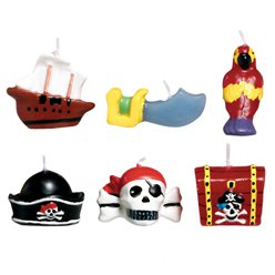 Pirate Treasure Candles