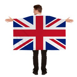 Union jack Cape - Volwassene