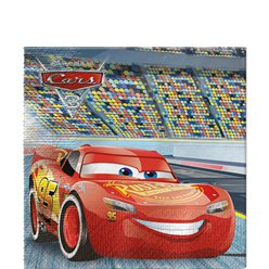 Disney Cars 3 - 2-laags Papieren Servetten