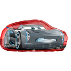 Cars Cruz & Jackson Supershape Ballon - 89 cm