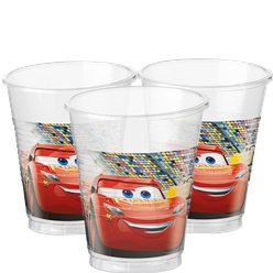 Disney Cars 3 - Plastic Feestbekers - 200 ml