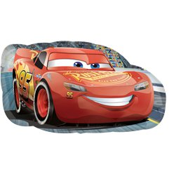 Cars Lightening McQueen Supershape Ballon