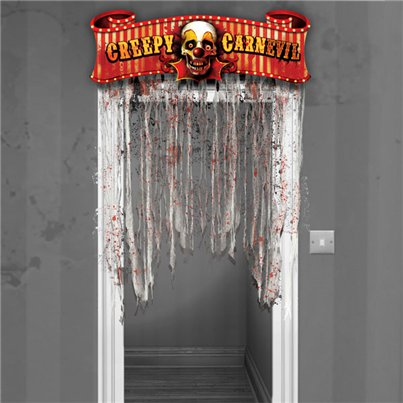 'Creepy Carnevil' Deurdecoratie - 1.37m