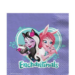 Enchantimals Papieren Servetten - 33 cm