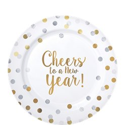 Proost - 'Cheers to a New Year' Premium Plastic Borden - 19 cm