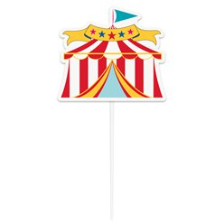 Circus Carnaval Taart Topper