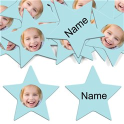 Baby Blue Star Personalised Co