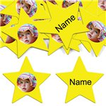 Yellow Star Personalised Confe