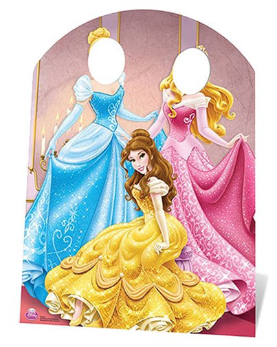 Disney Prinses Stand In Foto Prop - 127 cm