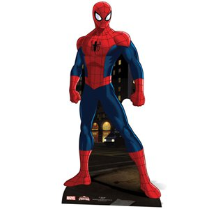 Spiderman Kartonnen Cutout - 173 cm