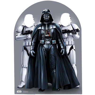 Star Wars Stand In Foto Rekwisiet - 127 cm