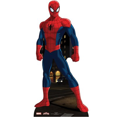 Spider-Man Mini Kartonnen Cutout - 96 cm