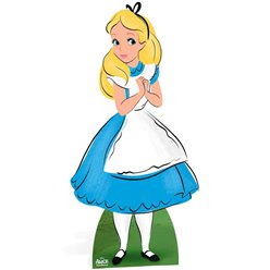 Alice in Wonderland Kartonnen Cutout - 1.6m