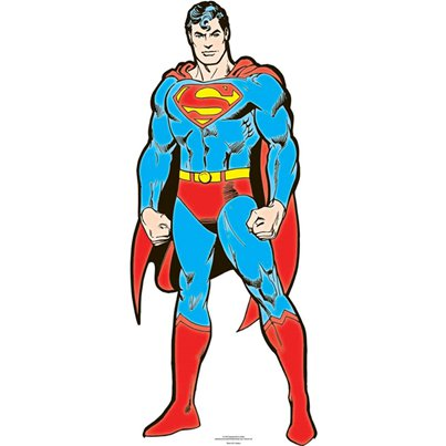 Superman - DC Comics - Mini Kartonnen Cutout - 92 cm