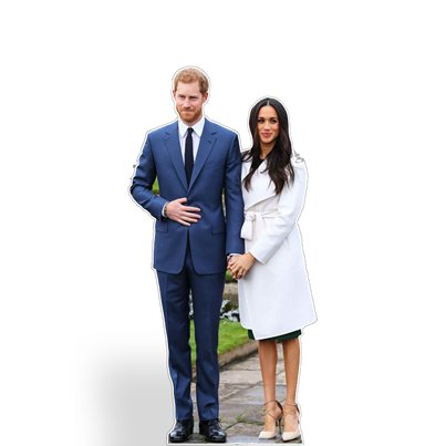 Harry & Meghan Mini Cutout - 91 cm
