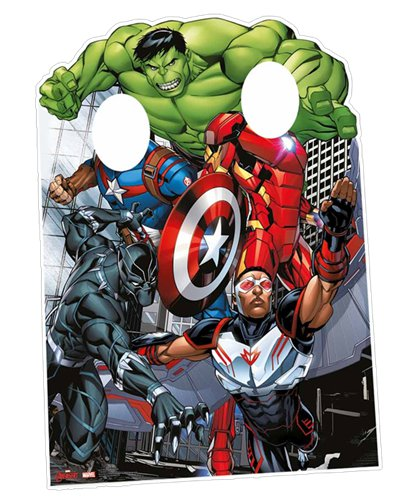 Avengers Assemble Stand In Foto Prop - 1.3m