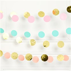 Pastel Hangende Streng Decoraties