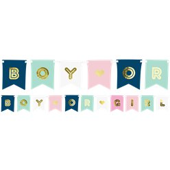 Boy Or Girl Banner - 1.75 m