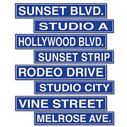 Hollywood Bord Cutouts