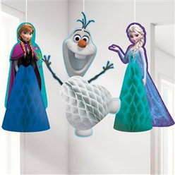 Frozen Honingraat Hangende Decoraties