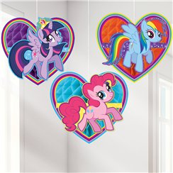 My Little Pony Honingraat Hangende Decoraties